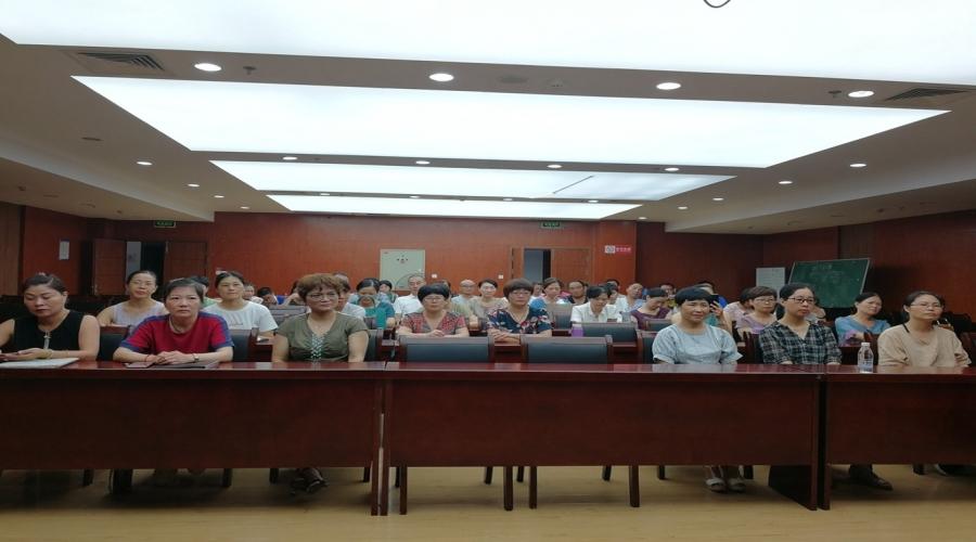 市文化馆馆办团队——剑风瓷韵合唱团秋季开班仪式在文化馆三楼报告厅举行